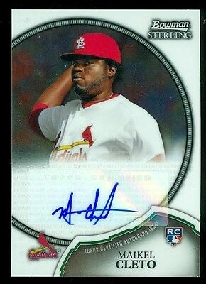 2011 (BB) Bowman Sterling Rookie Autographs #20 Maikel Cleto