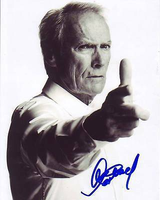 Clint Eastwood Signed Autographed 8x10 Photograph
