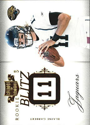 2011 Panini Plates and Patches Rookie Blitz #13 Blaine Gabbert/249