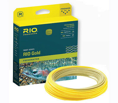 Rio NEW Gold Weight Forward Floating Fishing Fly Lines