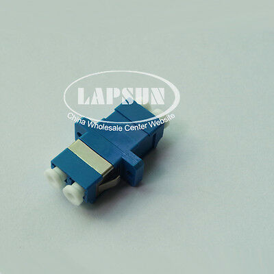 10pcs/Lot LC to LC/PC Singlemode Duplex Fiber Optic Adapter Connector LC-LC