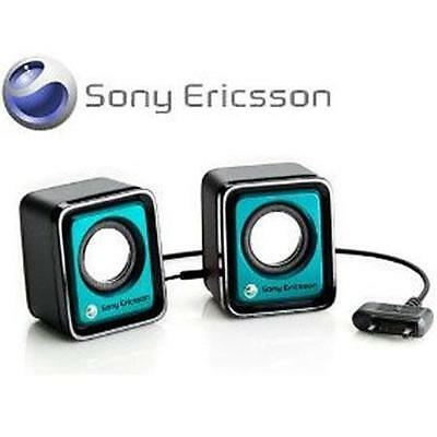Genuine Sony Ericsson MPS-70 MPS70 Portable Speaker - Cyan Blue