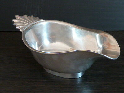 CHRISTOFLE ANTIQUE 19th GRAVY BOAT - brillant luster