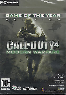 Call of Duty 4 Modern Warfare Game of the Year Edition PC COD GOTY Brand New