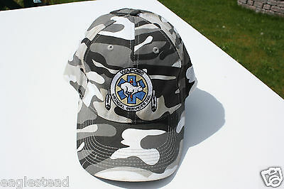 Ball Cap Hat - Wapose Medical Services Rabitt Camouflage Fort McMurray (H1048)