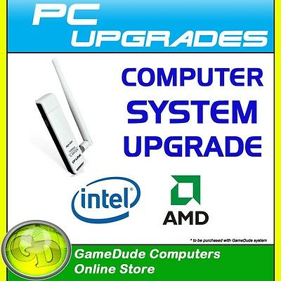 TP-LINK TL-WN722N USB WirelessN Upgrade for GameDude ComputerSystem FREE INSTALL