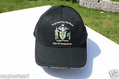 Ball Cap Hat - City of Vancouver - Engineering Services - Public Works (H1056)