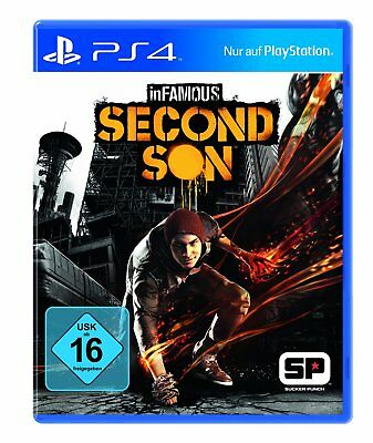 Infamous - Second Son       PS4            Playstation 4       !!!! NEU+OVP !!!!