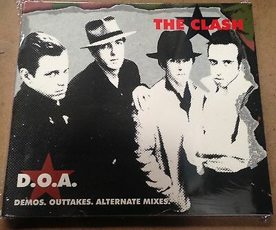 The Clash - D.o.a. - Cd  Demos, Outtakes Alternative Mix  Sealed Mint