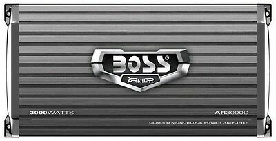 Boss Armor Class D Monoblock Amplifier 3000w Max Boss Audio Ar3000d Amplifier
