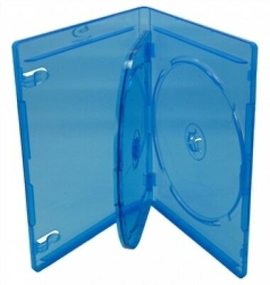 100 PREMIUM STANDARD Blu-Ray Triple 3 Disc DVD Cases 12MM