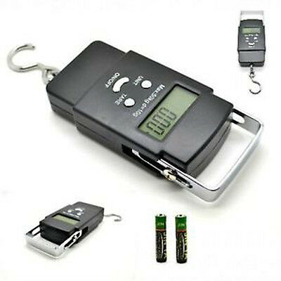 Portable Handheld Digital Luggage Fishing Scales Balance Weighing Suitcase 40kg
