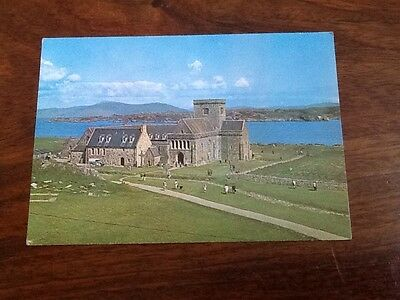 Old Postcard Iona Cathedral