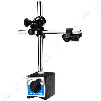 Heavy Duty DTI Dial Test Indicator Stand + Magnetic Base For Dial Gauges Set