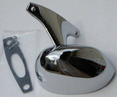 73 74 Road Runner Satellite Charger Right Rally Mirror Chrome