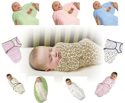 Summer Infant Swaddle Me Baby Swaddling Wrap Blanket Cotton