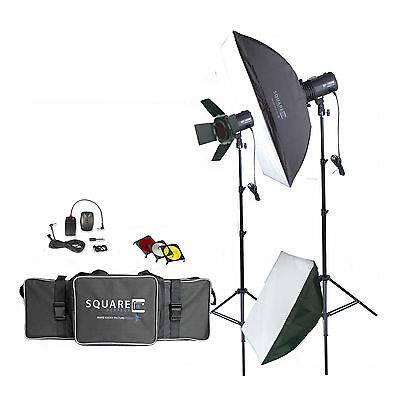 Photography Studio Kit Complete With Photo Lighting - Strobes - Stands & More
