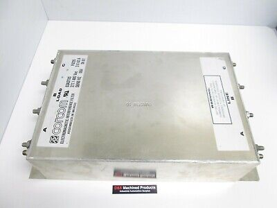 Corcom 63ADT6S Electromagnetic Interference Filter 277/480VAC 3x63A 50/60Hz