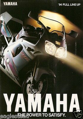 Motorcycle Brochure - Yamaha - Product Line Overview - 1994 (DC72)