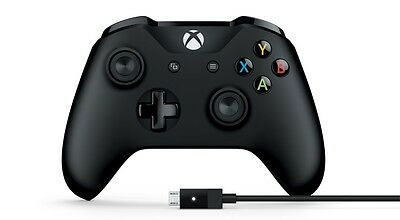 MICROSOFT XBOX ONE Controller + Cable for Windows 4N6-00003 (XBOX ONE/PC) [F13]