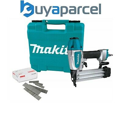 Makita AF505 18g Gauge Brad Air Pin Nailer with 50mm 18g Nails and Accessories
