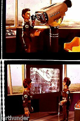 Gerry Anderson Thunderbirds 16mm Colour Film Half Frames - London Tower Shot A