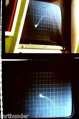 Gerry Anderson's UFO 16mm Colour Film Half Frames - UFO Tracking Screen Double