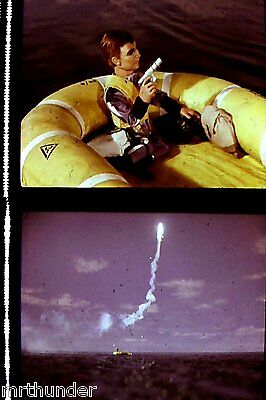 Gerry Anderson Thunderbirds 16mm Colour Film 1/2 Frames - Liferaft Double