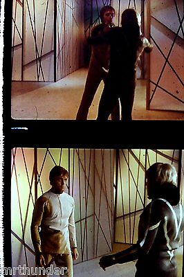 Gerry Anderson's UFO 16mm Colour Film Half Frames - Reflections In Water Fight 1