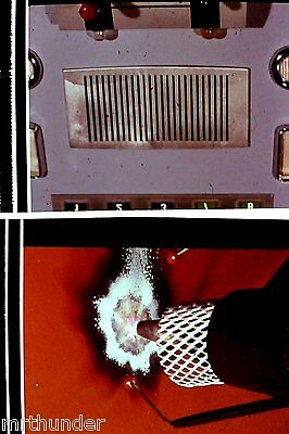 Gerry Anderson Thunderbirds 16mm Colour Film 1/2 Frames - Acetylene Torch B