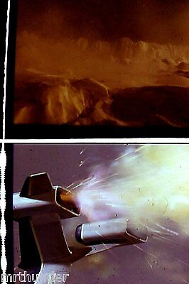 Gerry Anderson'sThunderbirds16mm Colour Film 1/2 Frames Fireflash Engine Detail