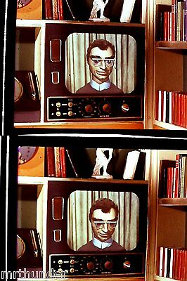 Gerry Anderson Thunderbirds 16mm Colour Film Half Frames - TV Newscaster Double