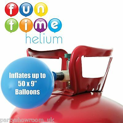 Party Birthday Disposable Helium Gas Cylinder Canister Fills 50 Balloons