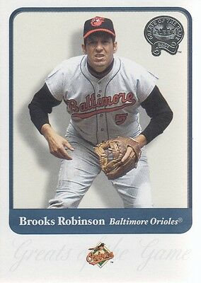 2001 (BB) Greats of the Game #22 Brooks Robinson - NM-MT