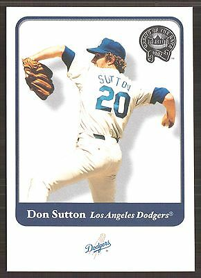 2001 (BB) Greats of the Game #102 Don Sutton - NM-MT