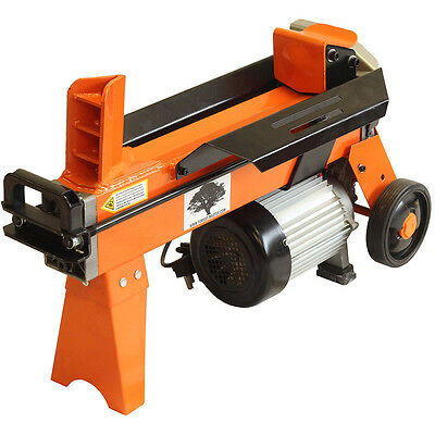 5 Ton Electric Hydraulic Log Splitter Wood Timber Cutter 2200 Watt Motor