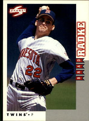 1998 Score Rookie Traded #110 Brad Radke