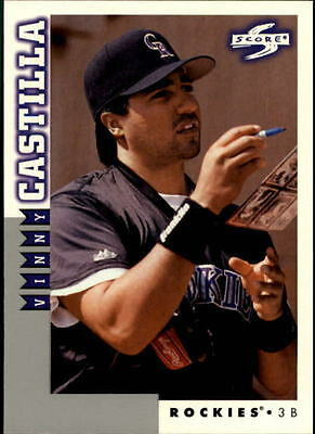 1998 Score Rookie Traded #78 Vinny Castilla