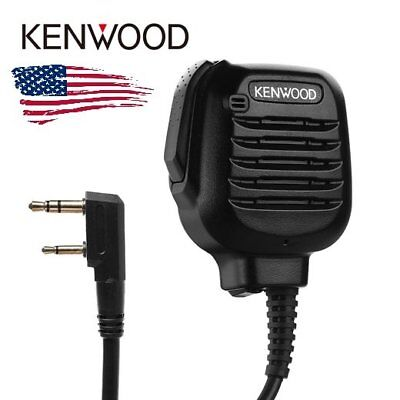 Original Kenwood KMC-45 Heavy Duty Speaker Microphone Mic for Mobile Radio US