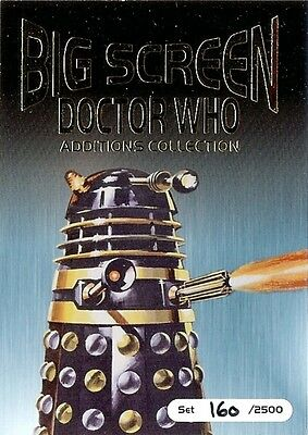 Dr Doctor Who Big Screen Additions Box Topper Trading Card