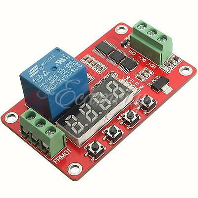 12V Relay Cycle Timer Module Board PLC Home Automation Delay Multifunction New