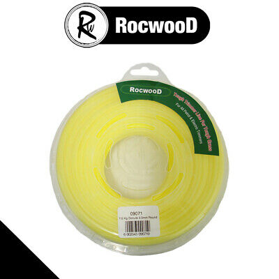 Brushcutter Strimmer Round Profile Cord / Line 3mm X 60m