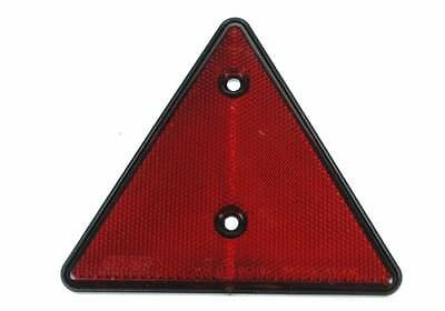Red Triangular Reflex Reflector Trailer Transporter Caravan X2