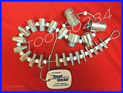Thread Checker SWTC-S21 Thread Testers Gages SAE INCH ONLY Male/Female NC & NF