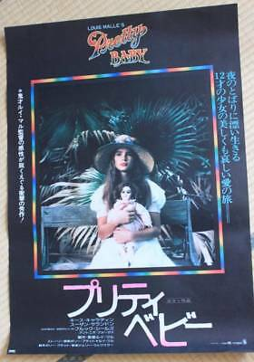 MPH26013 Pretty Baby 1978 Original Japanese Movie Poster Japan MALLE Shields