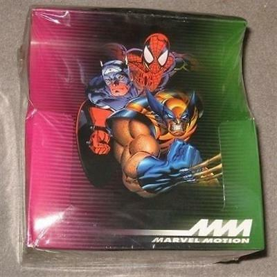 Factory Sealed Box 1996 Marvel Motion Comic Trading Cards - X-Men Spiderman Hulk