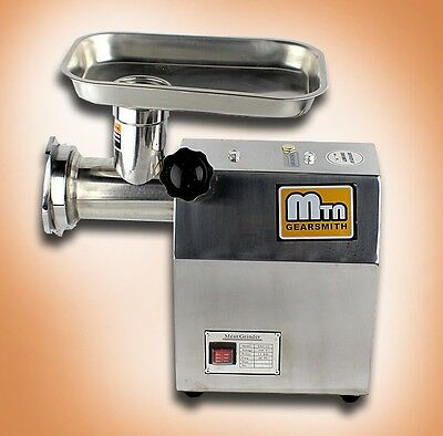 New MTN Gearsmith #12 Commercial Electric Meat Grinder Mincer Sausage Stuffer