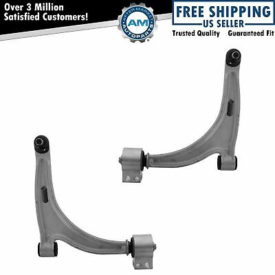 Front Lower Control Arms w/ Ball Joints Pair Set NEW for Chevy Pontiac Saturn
