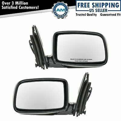 02-07 Liberty Power Non-Heated Folding Rear View Mirror Left Right Side PAIR SET