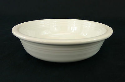 Fiesta White Homer Laughlin China Coupe Soup Cereal Bowl Contemporary Multiple